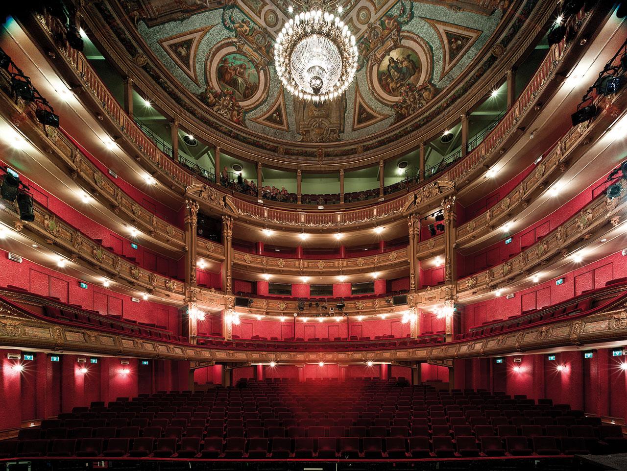Impulse responses opera of ghent for Interieur antwerpen