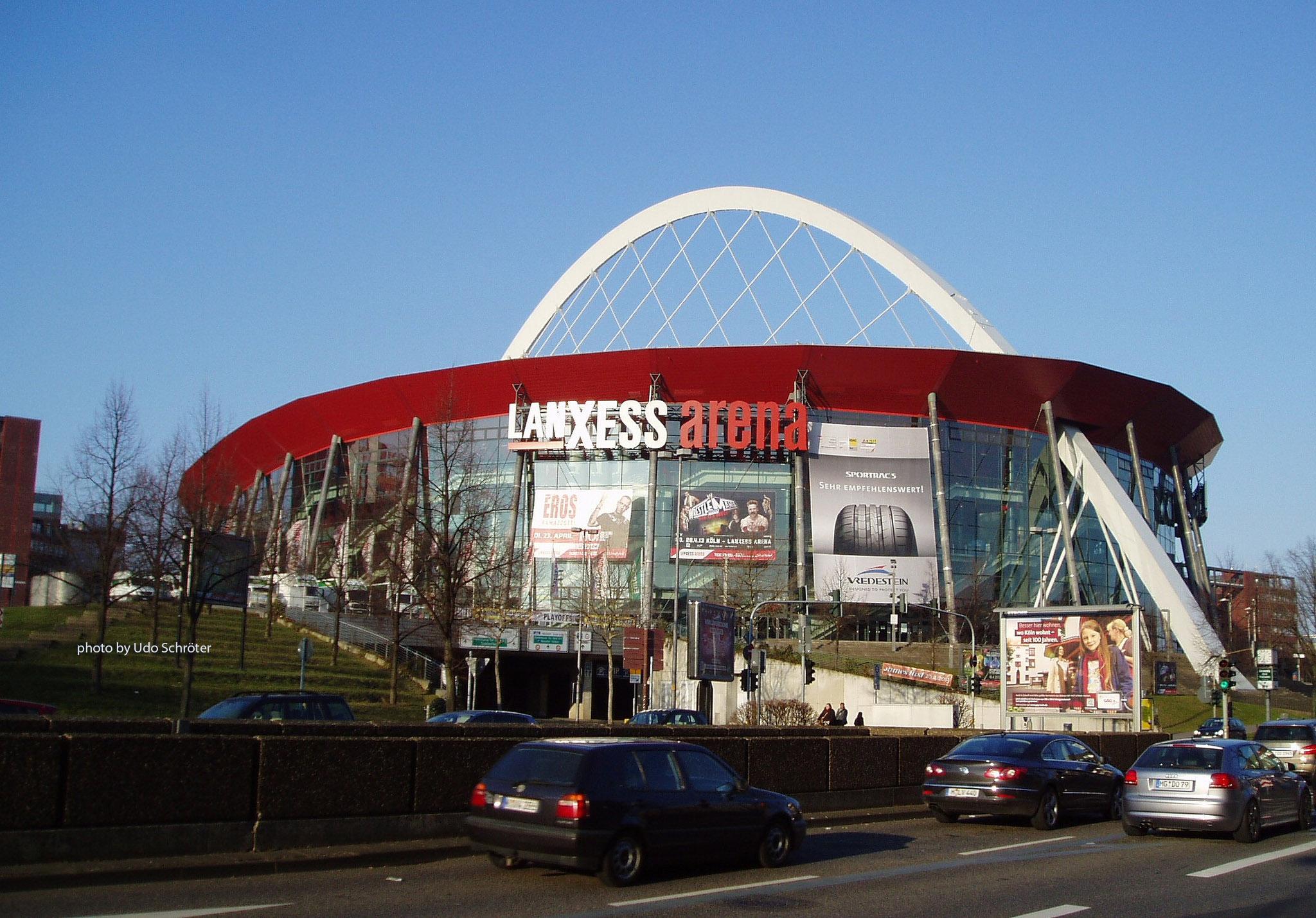 Lanxess Arena Parkhaus
