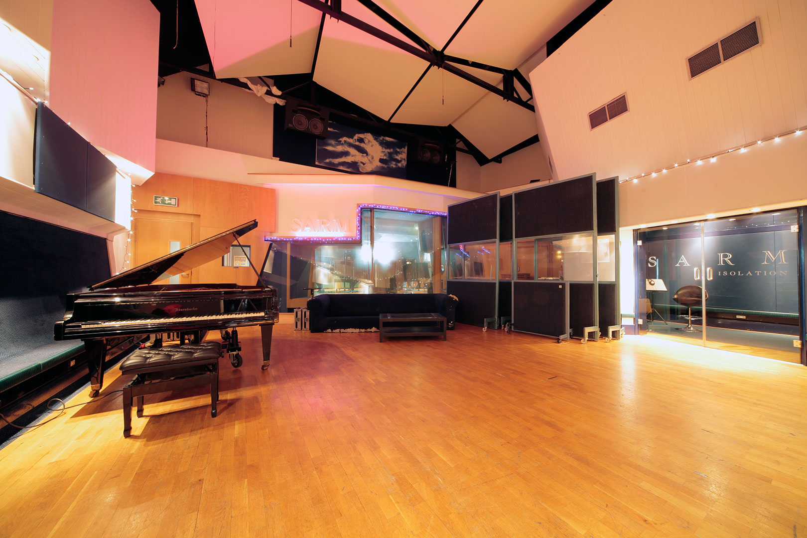 Impulse Responses - SARM West Studios, London, UK