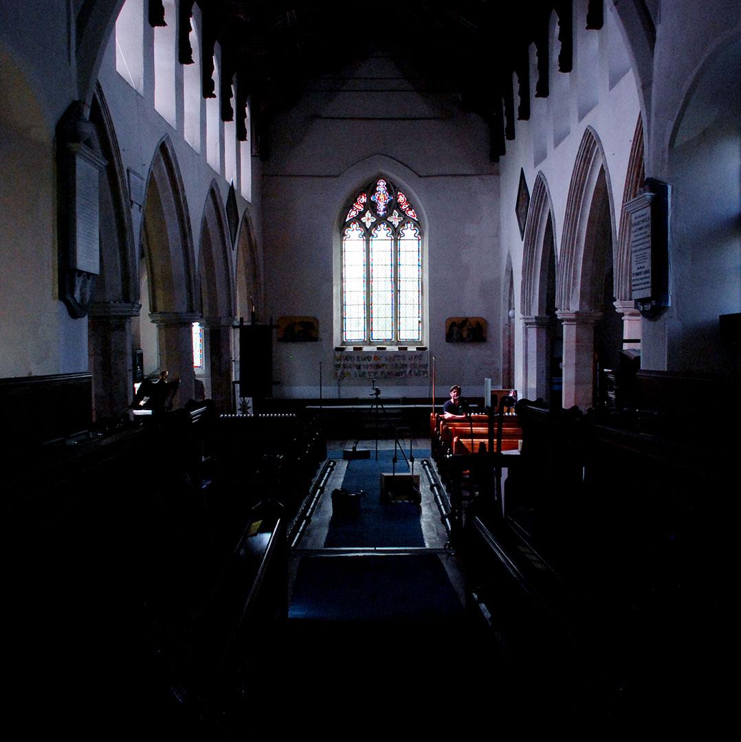 St Marys Church Dark