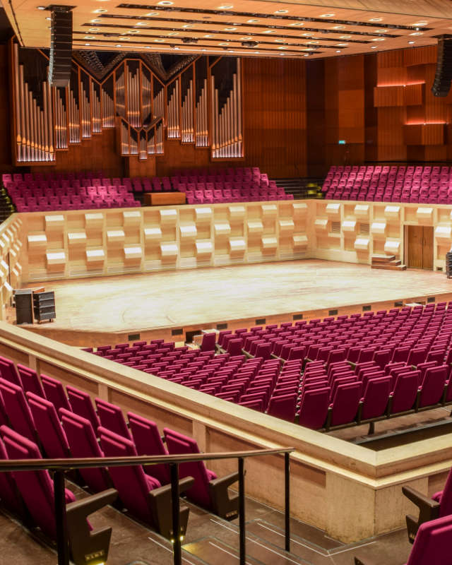 De Doelen, concert hall, Rotterdam The Netherlands